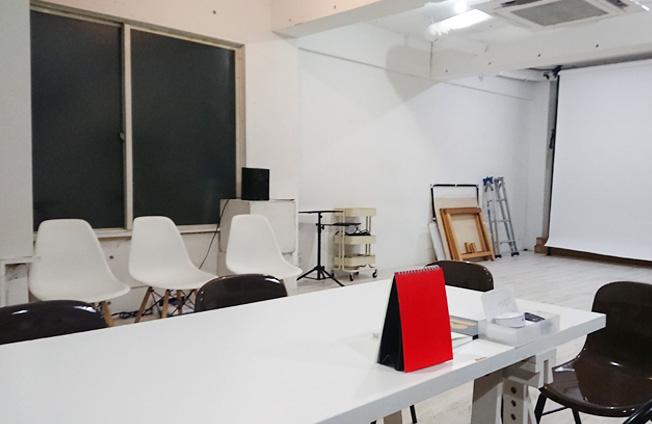 Emotif貸し撮影スタジオの内部